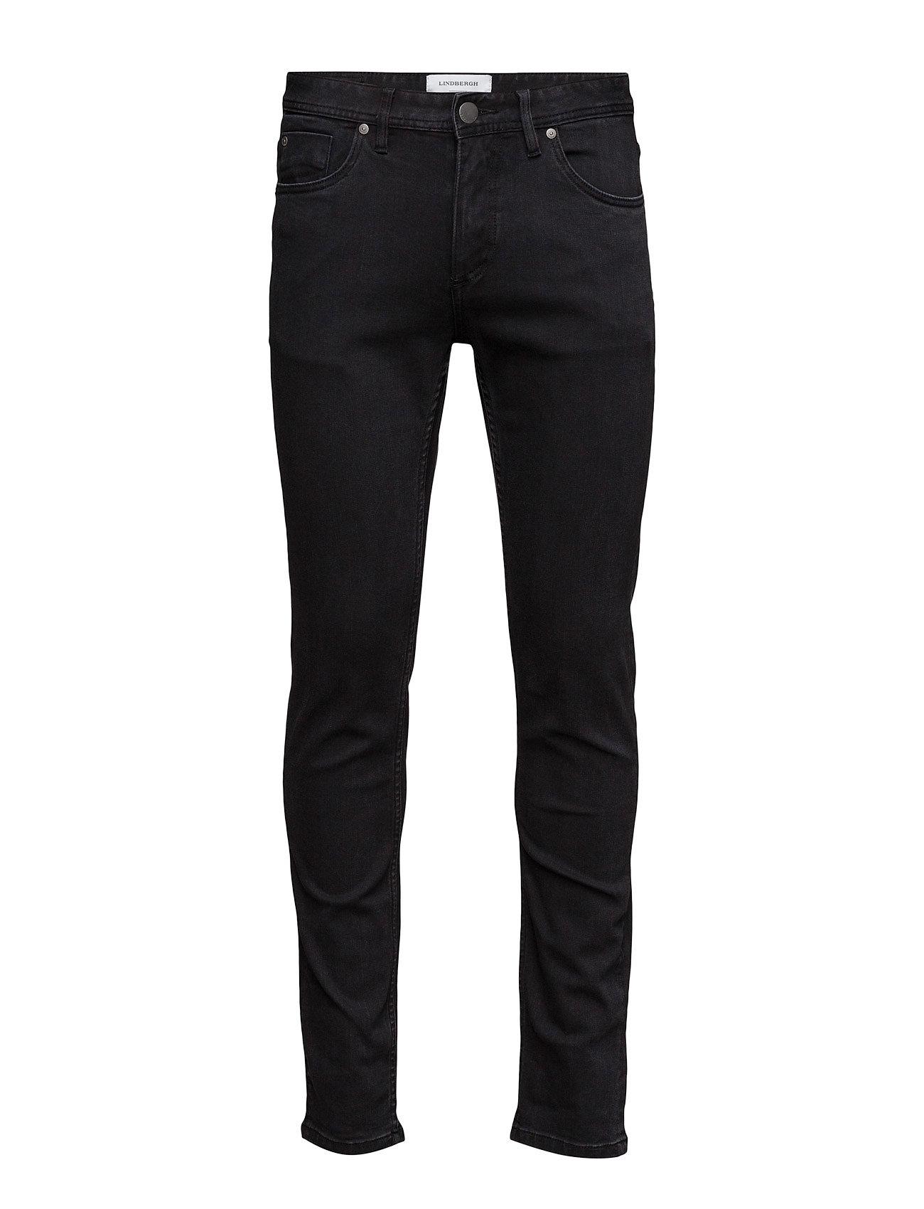 Skinnyfithyperflexjeansblk Lindbergh Jeans til Mænd i