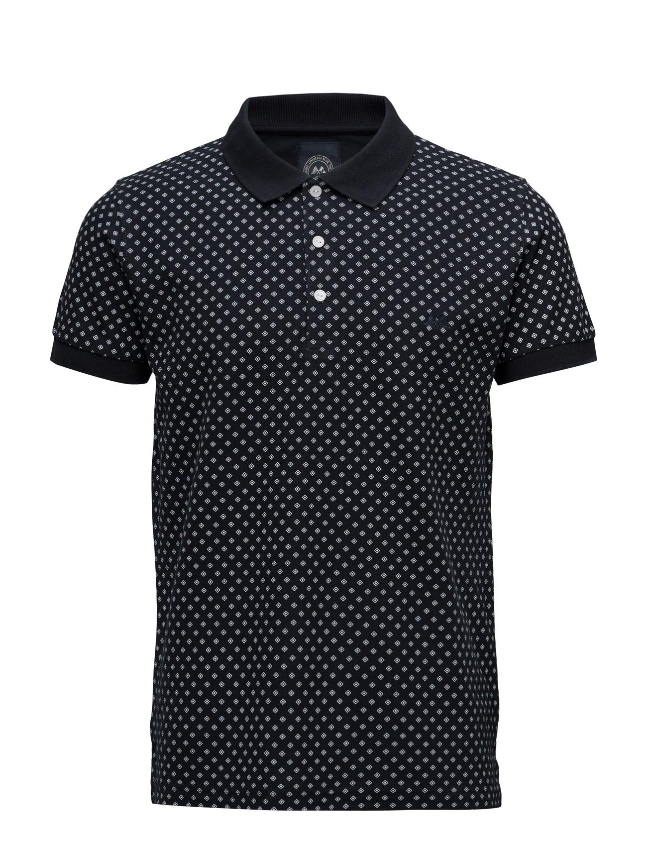 Aoppolopiqueå«S/S Lindbergh Kortærmede polo t-shirts til Mænd i