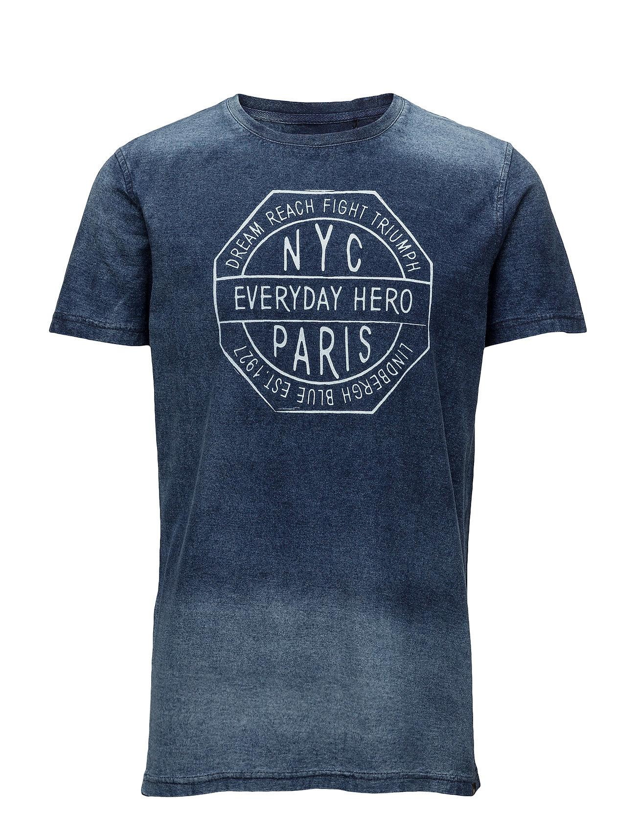 Everydayheroindigotees/S Lindbergh T-shirts til Mænd i Blå