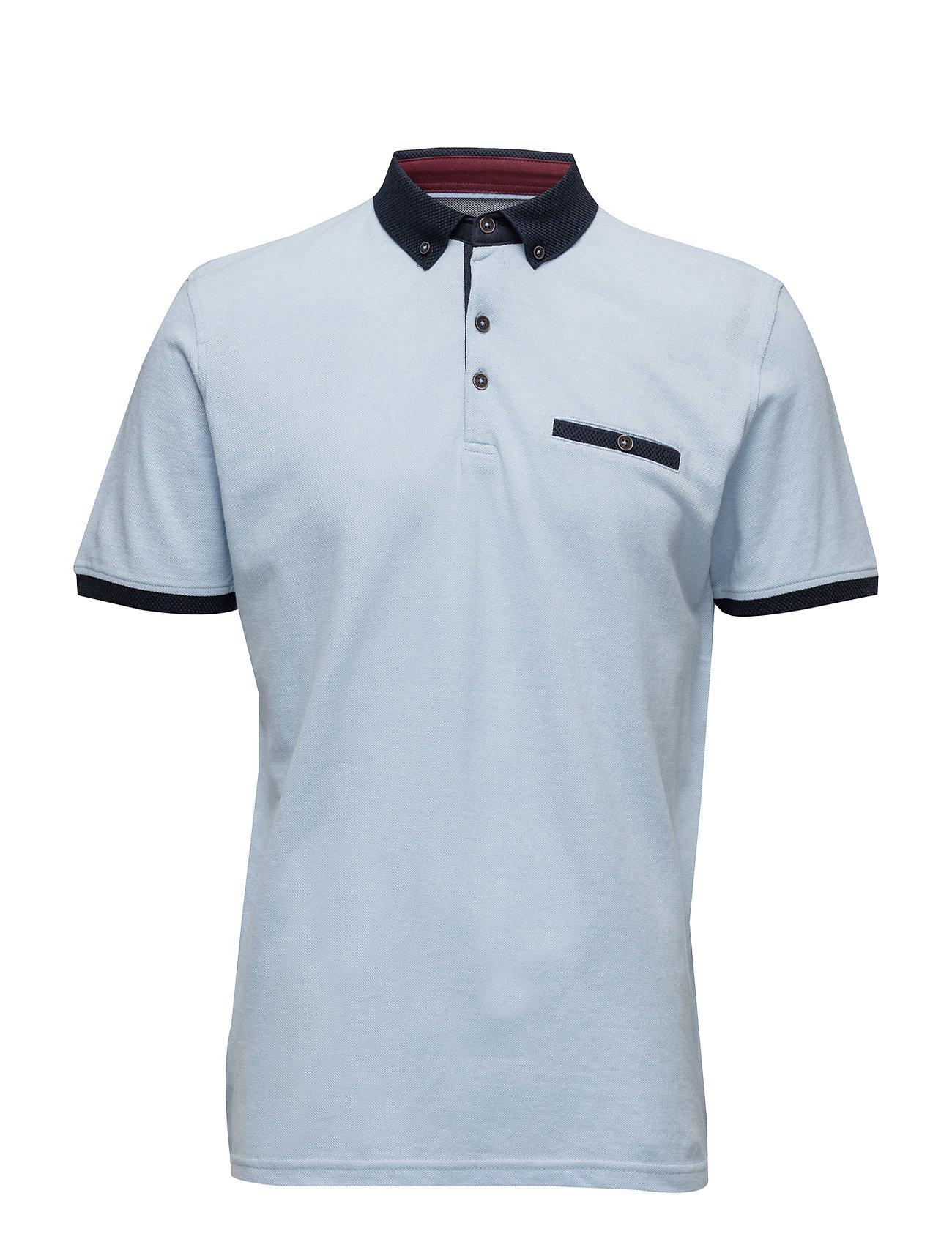 Polo Shirt W.Contrasts S/S Lindbergh Polo t-shirts til Mænd i