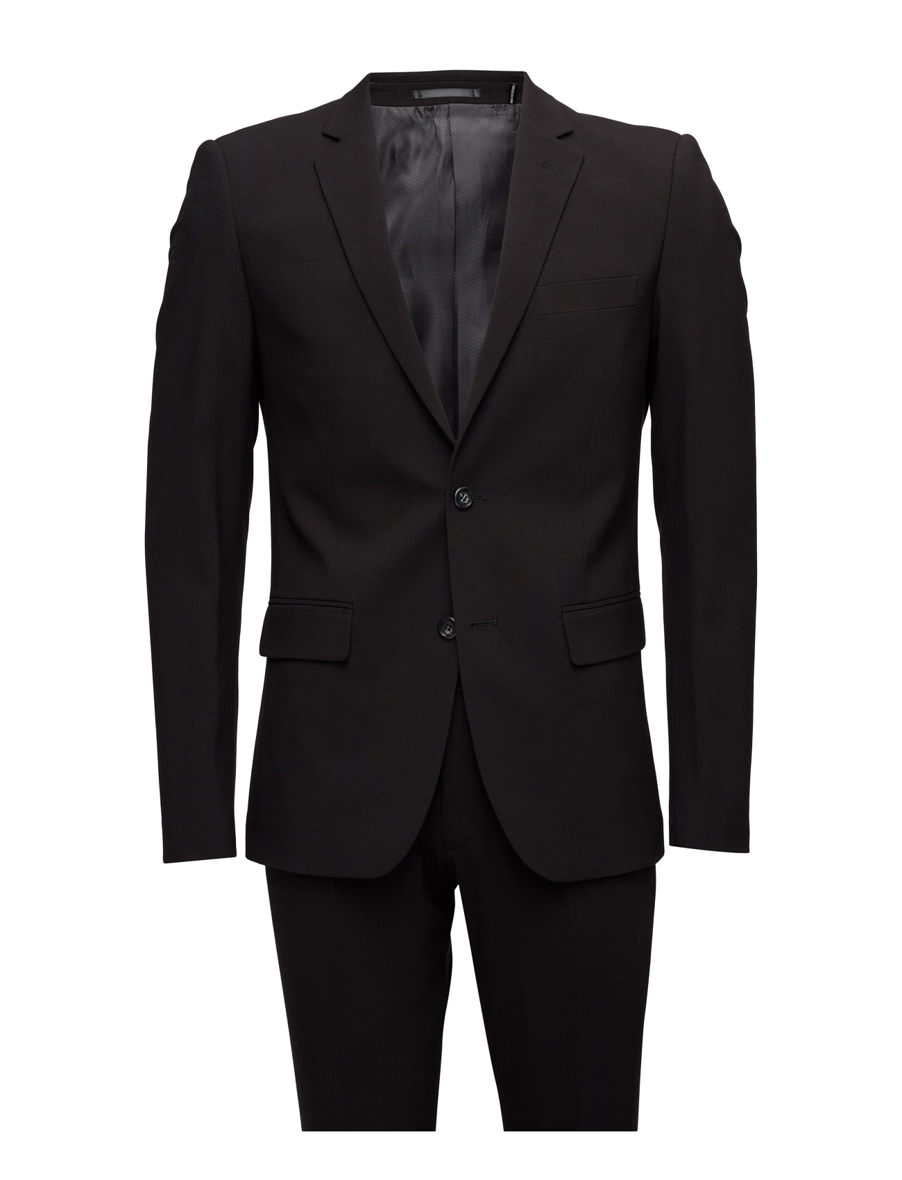 Lindbergh Plain mens suit-blazer + pants