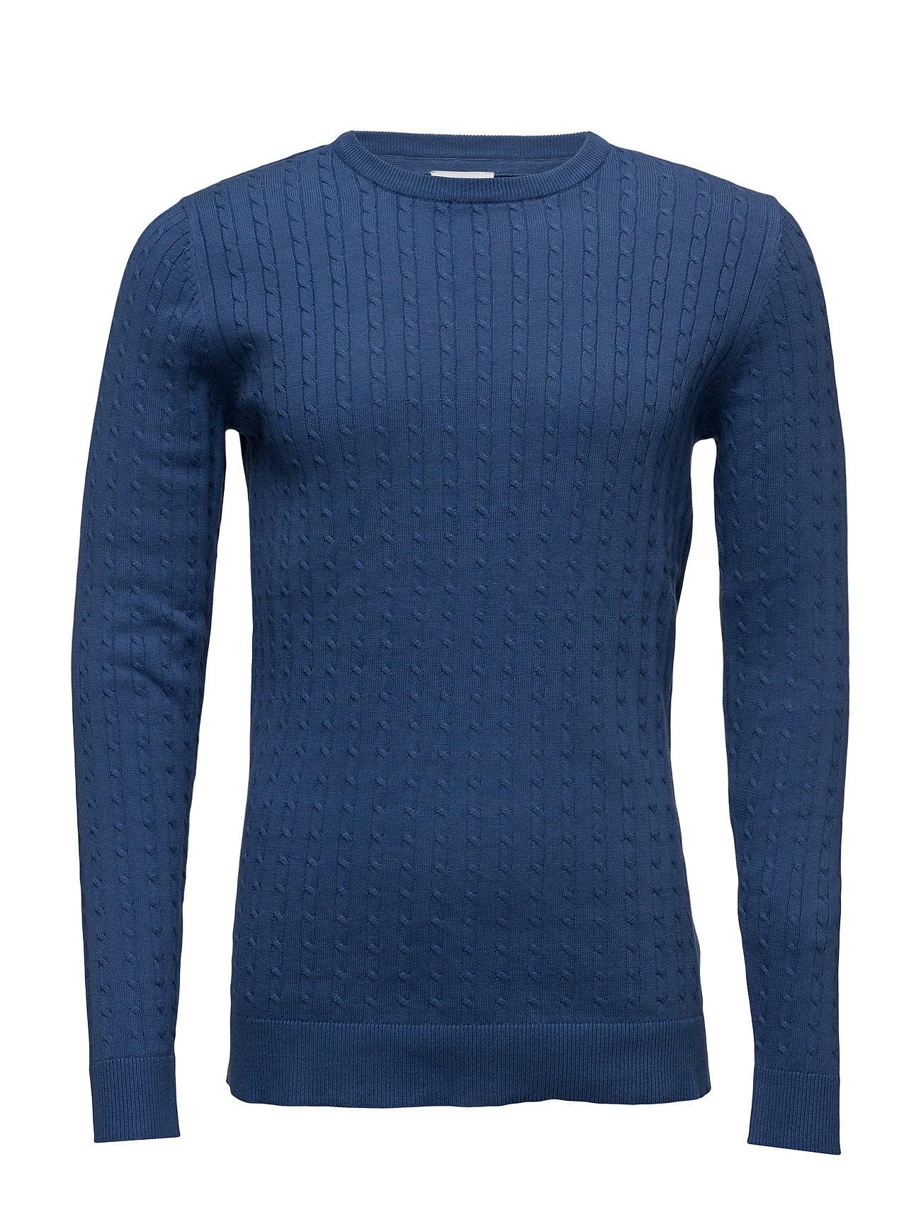 O-Neckcableknit Lindbergh T-shirts til Mænd i