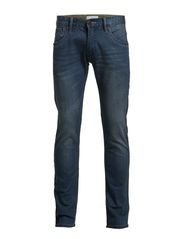 Men's 5 pocket stretch jeans - INDIGO BLUE