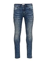 Slim fit jeans - blue tone - BLUE TONE