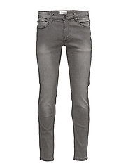 Slim fit jeans - toned grey - TONED GREY