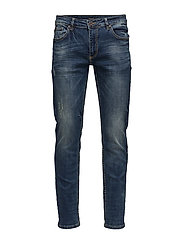 Tapered fit jeans  drover blue - DROVER BLUE