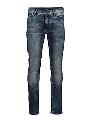 Tapered fit jeans - concrete b - CONCRETE BL
