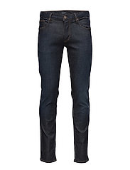 Tapered fit jeans-Dk Blue