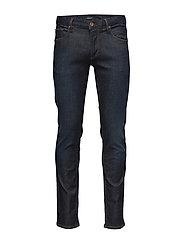 Tapered fit jeans-Dk Blue - DK BLUE