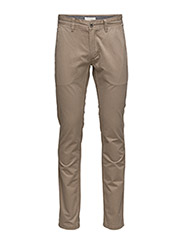 Classic chino w/slash pockets - CAMEL