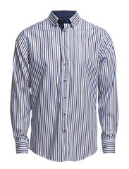 Lindbergh Block stripe shirt L/S
