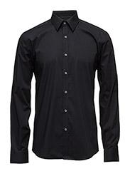 Men's Stretch Shirt L/S - BLACK