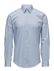 Men's Stretch Shirt L/S - LT BLUE