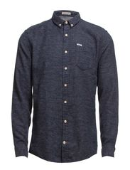 Flannel shirt L/S - NAVY
