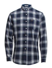 Check shirt L/S - BLUE