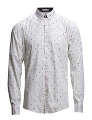 Classic L/S shirt - WHITE