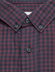 Checked double face shirt L/S