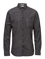 Classic one pocket shirt L/S - GREY