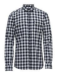 Worker shirt L/S - WHITE