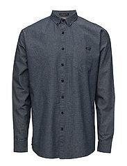 ClassiconepocketshirtL/S - BLUE
