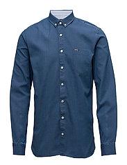 Indigo shirt L/S - INDIGO
