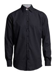 Small checked shirt l/s - NAVY