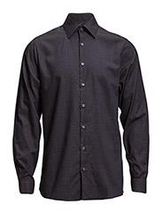 Plain shirt L/S - NAVY
