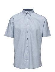 Structured shirt S/S - LT BLUE