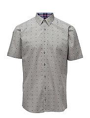 Mélange shirt S/S - LT GREY