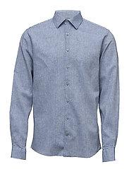 Linen shirt L/S - LT BLUE