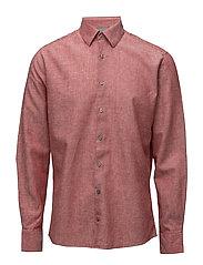 Linen shirt L/S - RED