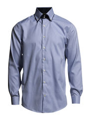 Cut-away collar shirt L/S - LT BLUE