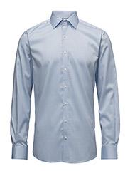 Plain fine twill shirt wf - LT BLUE