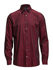 DoublecollarshirtL/S - RED