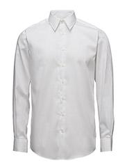 Basic Shirt L/S - WHITE
