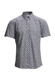 A.O.P shirt S/S - NAVY