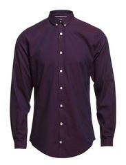 Oxford shirt L/S - BORDEAUX