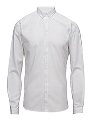 OxfordshirtL/S - WHITE