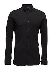 JerseyshirtL/S - BLACK