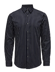 StripedshirtL/S - NAVY
