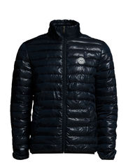 Quilted jacket - NAVY/BLACK