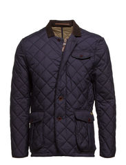 Quilted blazer jacket - NAVY