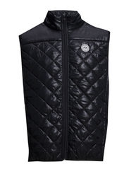 Quilted waistcoat - NAVY