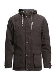 Jacket with hood - STONE