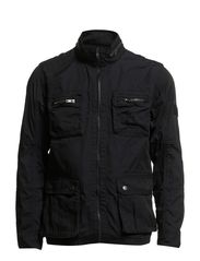 Detailed jacket - NAVY