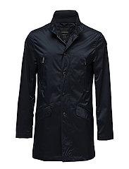 Coat with zippers - NAVY