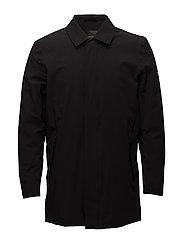 Technical car coat - BLACK