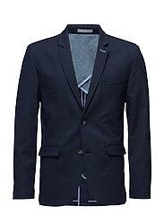 Small structured blazer - NAVY MIX