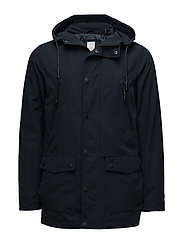 Light parka jacket - NAVY
