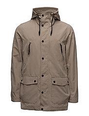 Light parka jacket